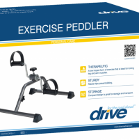 Image of Folding Exercise Peddler with Electronic Display
