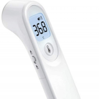 Image of Digital Non Touch IR Forehead Thermometer