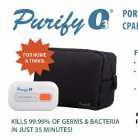 Image of Purify O3 | Portable Ozone CPAP/BiPAP Sanitizer